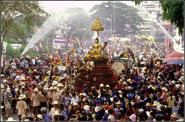 Буддийский Новый год - Сонкран