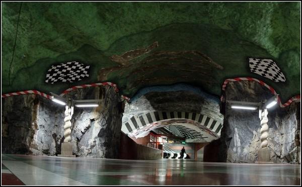 Метро Стокгольма: самые красивые станции в мире