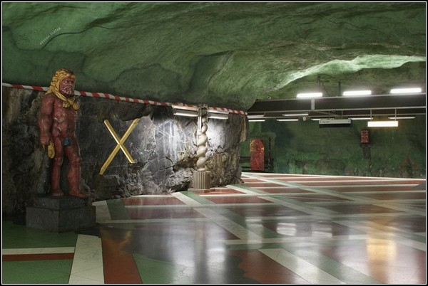Метро Стокгольма: зеленая ветка