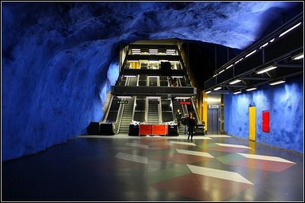 Метро Стокгольма: синяя ветка