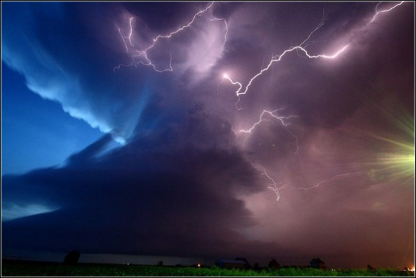 Грозовое небо на фото Криса Эллингтона