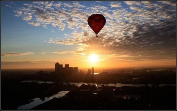 Летние фестивали-2011: воздушные шары в Лондоне