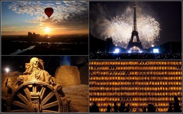 Летние фестивали-2011: яркая фотомозаика