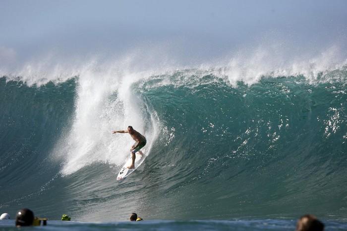 Лучший серфинг: чемпионпт на Гавайях