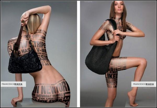 Необычные татуировки. Рисунки на коже
