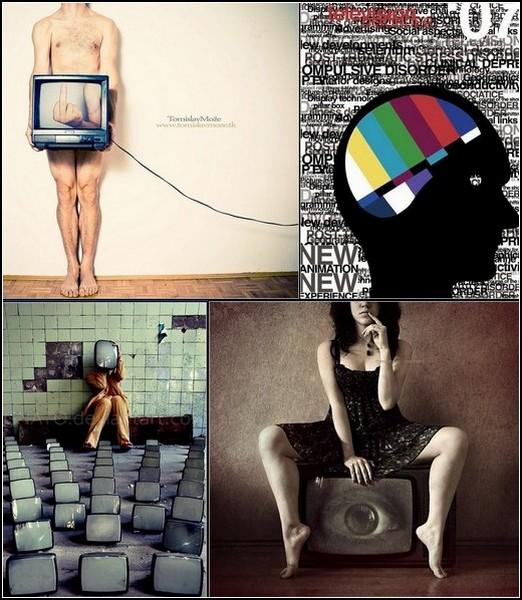 Лабиринт отражений: человек и телеэкран в современном искусстве