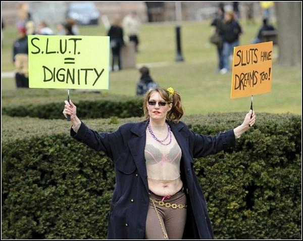 *Гулящие женщины* на улице: движение за права женщин