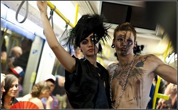 Андеграунд моды: подземный подиум в Берлине