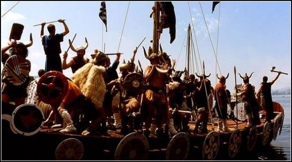 Корабли викингов в Катойре