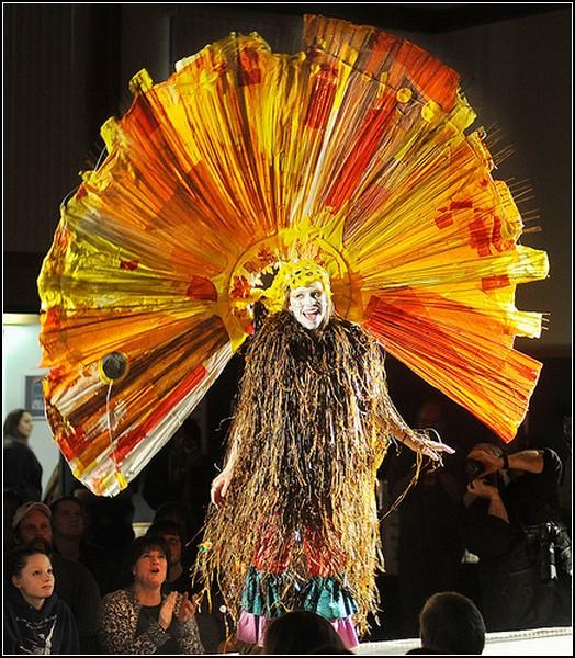 Фестиваль одежды в Кетчикане: странные наряды Аляски
