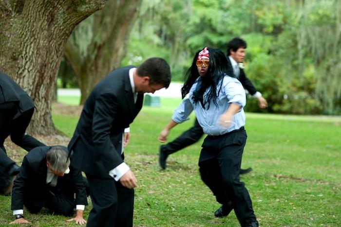 Драка на свадьбе: Пу-Канг-Канг наносит ответный удар