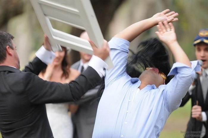 Видео драки на свадьбах
