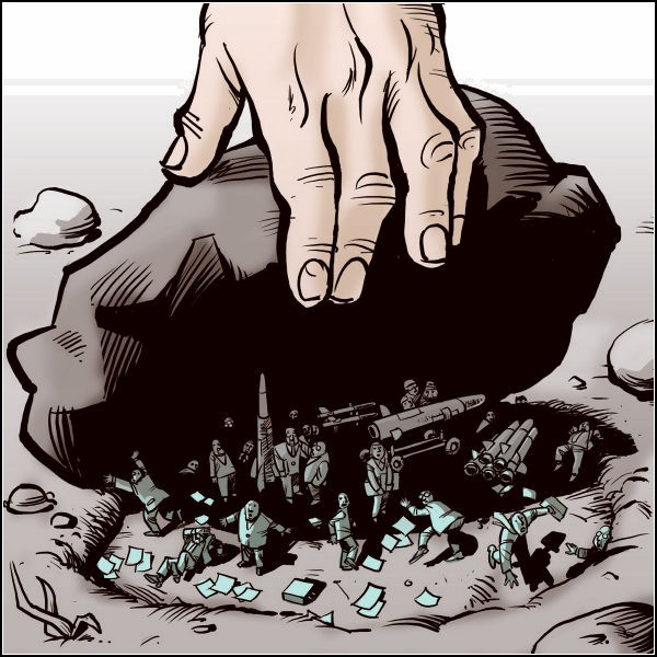 Документы WikiLeaks в карикатурах. Скрытая угроза