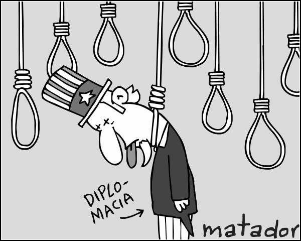 Документы WikiLeaks в карикатурах. Конец дипломатии