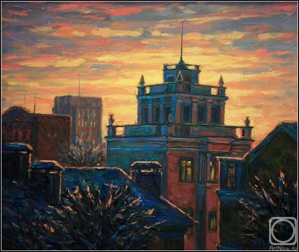 Зима и солнце: Зимнее утро Андрея Садова