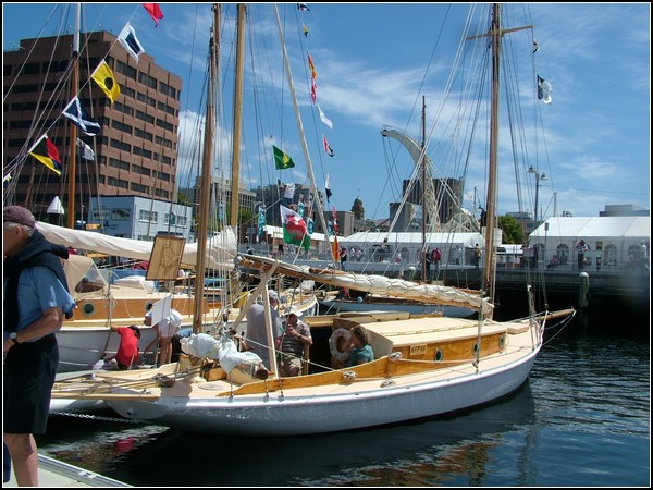 Деревянные яхты Австралии