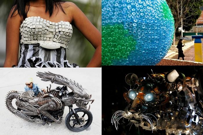 Праздник вторичной переработки: 10 способов переработать мусор