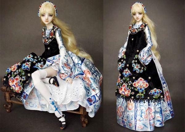 Творчество Марины Бычковой: чувственные куклы