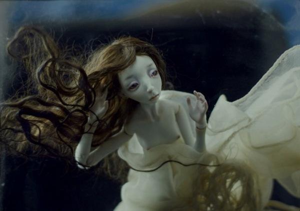 """Куклы Лидии Снуль - сказочные существа из фарфора. """"Русалочка"""""""