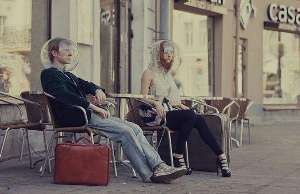 fashion снимки, полные отчужденности, от Алены Беляковой