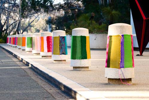 Magda Sayeg создает настоящую одежду для города