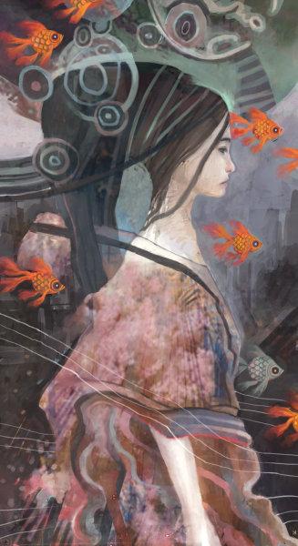Странный мир иллюстраций от Ken Wong