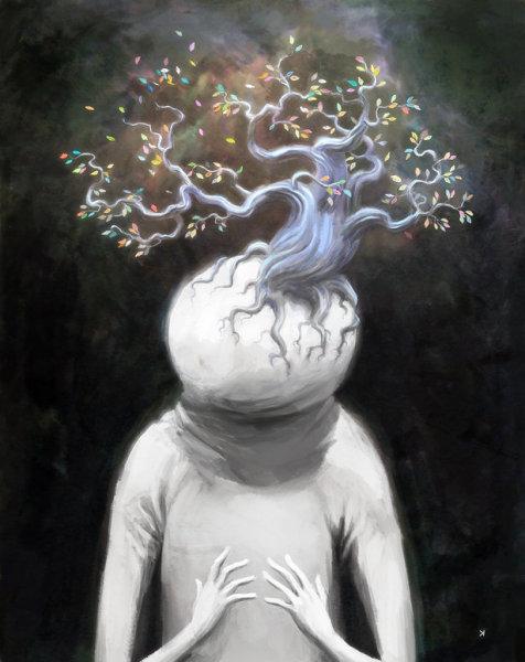 Безумный мир иллюстратора Ken Wong