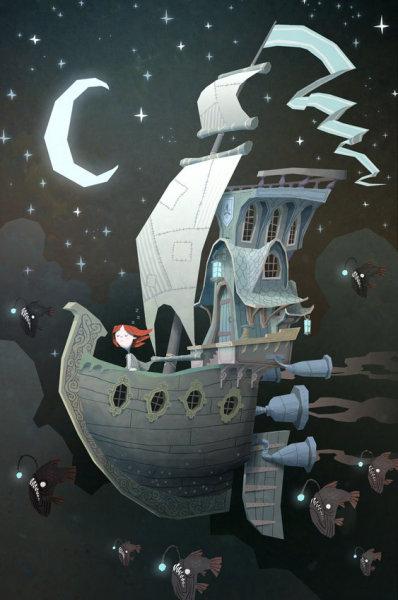 Путешествие по темной стороне иллюстратора Ken Wong