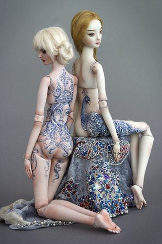 Женственные куклы Марины Бычковой