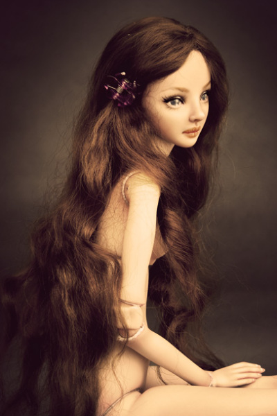 Творчество Марины Бычковой: нежные куклы
