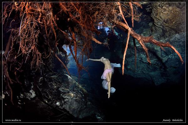 Подводная съемка прекрасных чаровниц от Анатолия Белощина