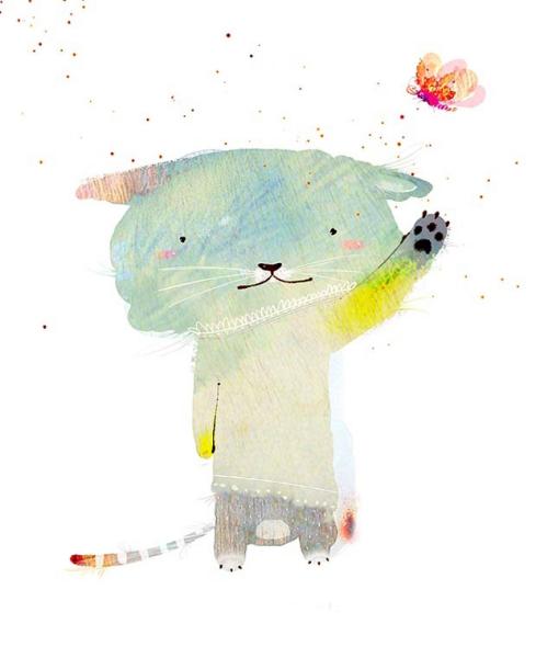 Творчество Shin Jae Won: милые зверьки