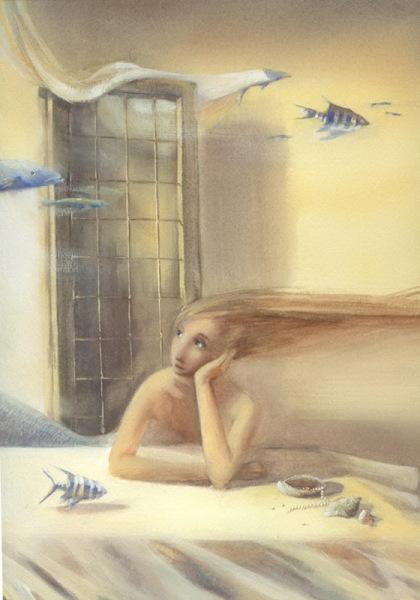 Иллюстрации Марины приоткрывают путь в мир детских грез
