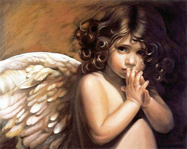 """Милые дети-ангелы от Нэнси Ноэль: """"Шепот"""""""