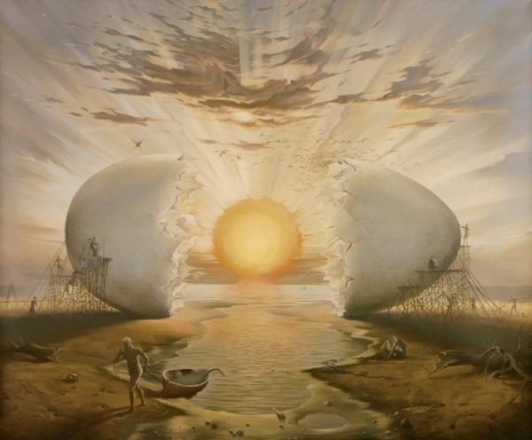 Волшебные миры картин Владимира Куша