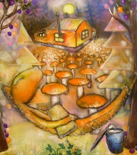 Наивное искусство от Алексея Белякова