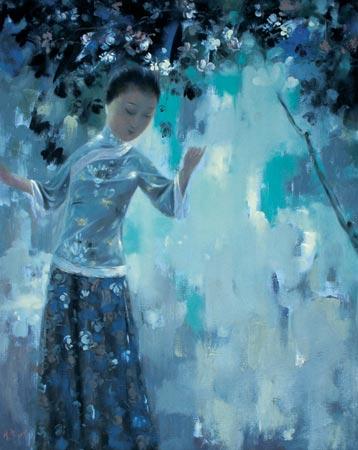 Новый взгляд на традиционную живопись в творчестве Wang Xiaojin