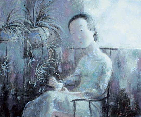 Теплые работы от Wang Xiaojin, одного из лучших китайских художников