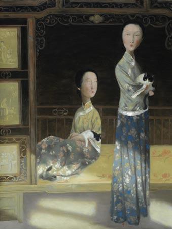 Возрождение традиций китайской живописи в творчестве Wang Xiaojin