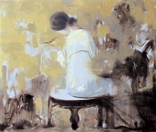 Новый взгляд на традиционную китайскую живопись: картины от Wang Xiaojin