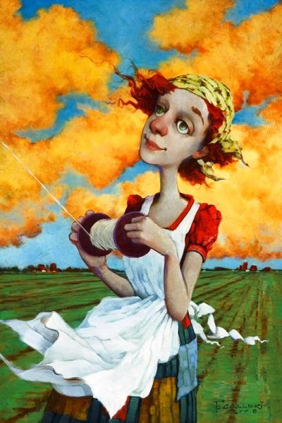Творчество Фреда Кальери, возрождающее романтизм в живописи
