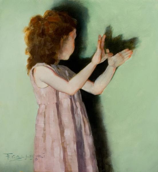 Калльери стремился воспроизвести классицизм и романтизм в живописи