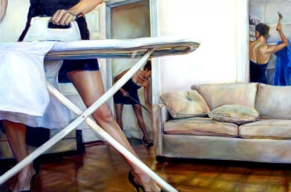 Сильные женщины глазами художницы Ana Teresa Fernandez
