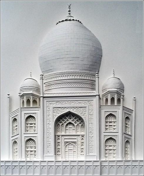 Мировые достопримечательности из бумажных городов: Тадж-Махал