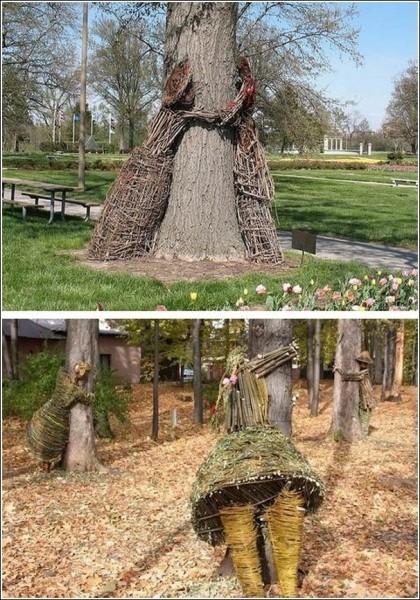 Скульптуры Агнешки Градзик и Виктора Шостало: все в парк!