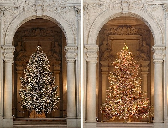Древо надежды: рождественские елки 2006 и 2007 годов