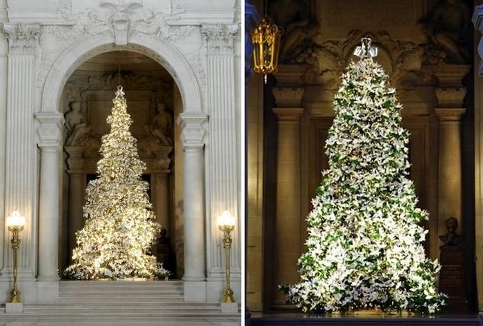 Древо надежды: рождественские елки 2008 и 2009 годов