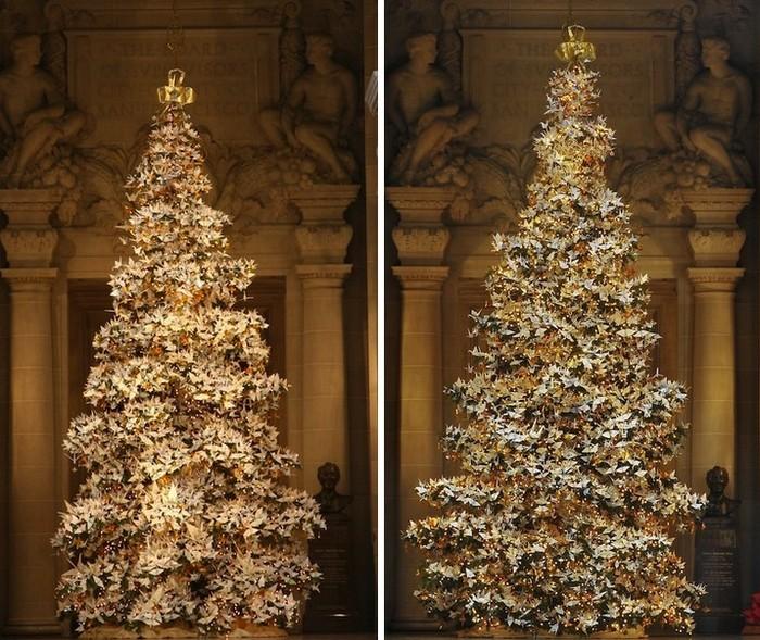 Древо надежды: рождественские елки 2010 и 2011 годов