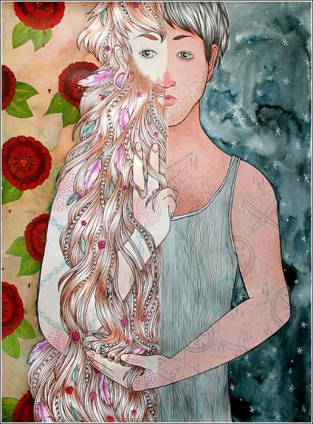 *Два мира*: яркие рисунки Сабрины Скотт