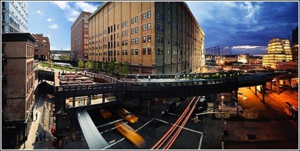 Слева - день, справа - ночь: удивительные фотографии Нью-Йорка